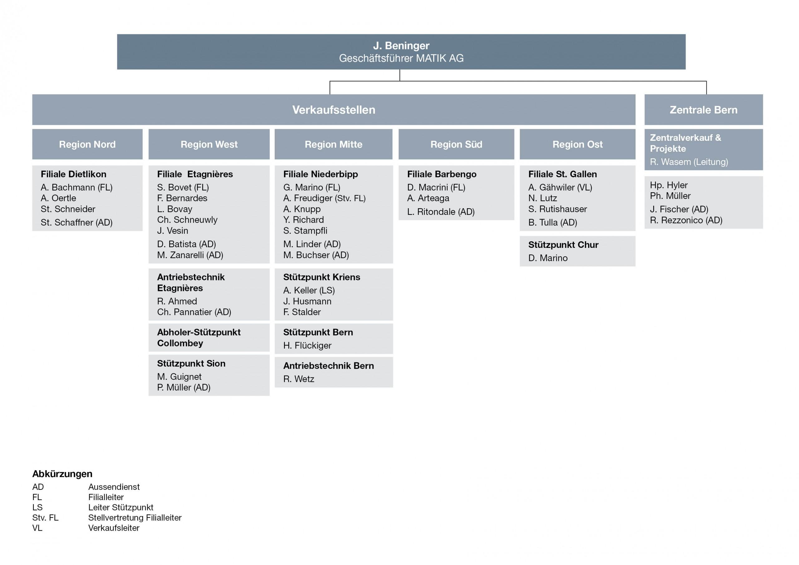 Matik Organisation 2017 DE