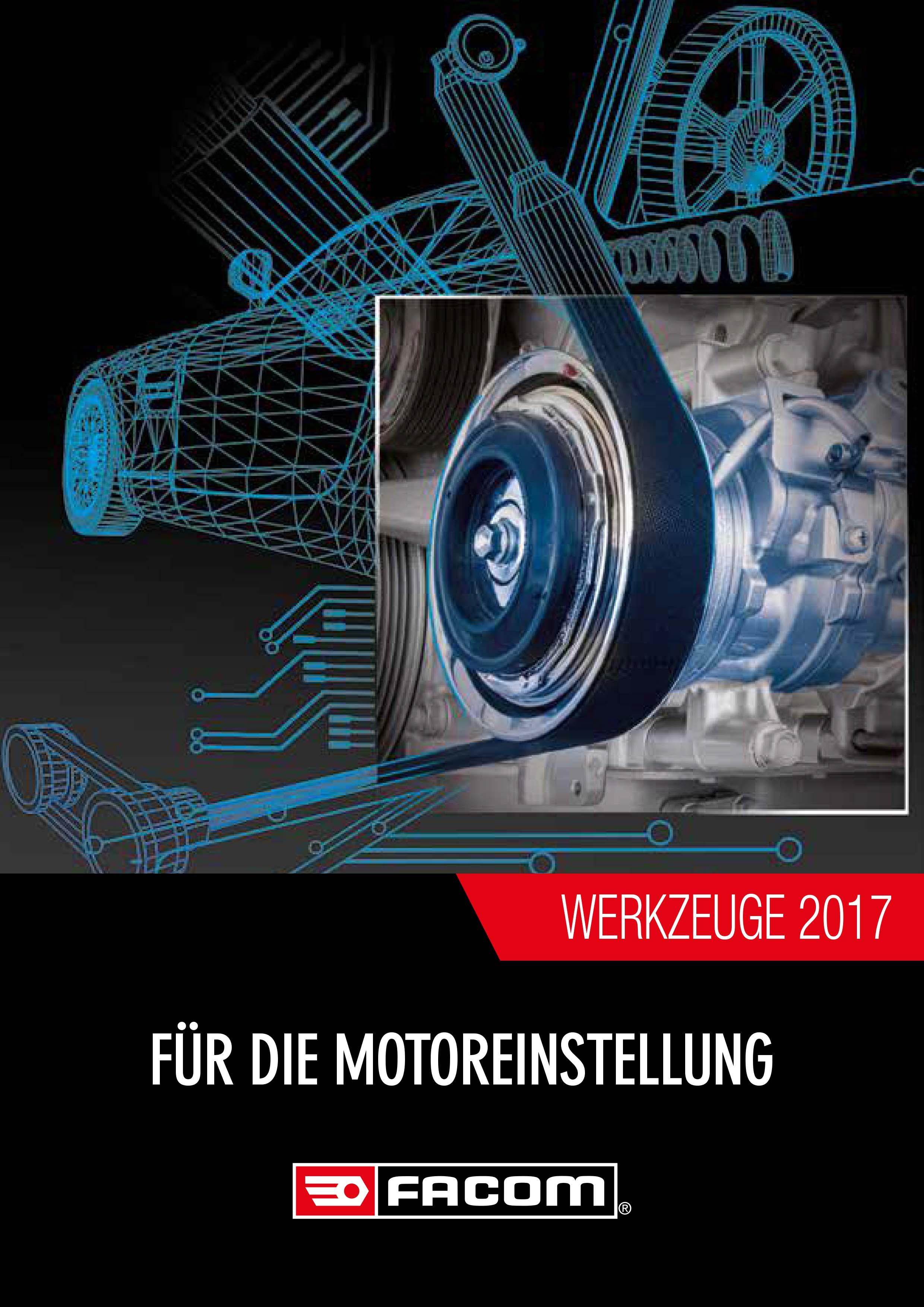 Facom Werkzeuge zur Motoreinstellung 2017