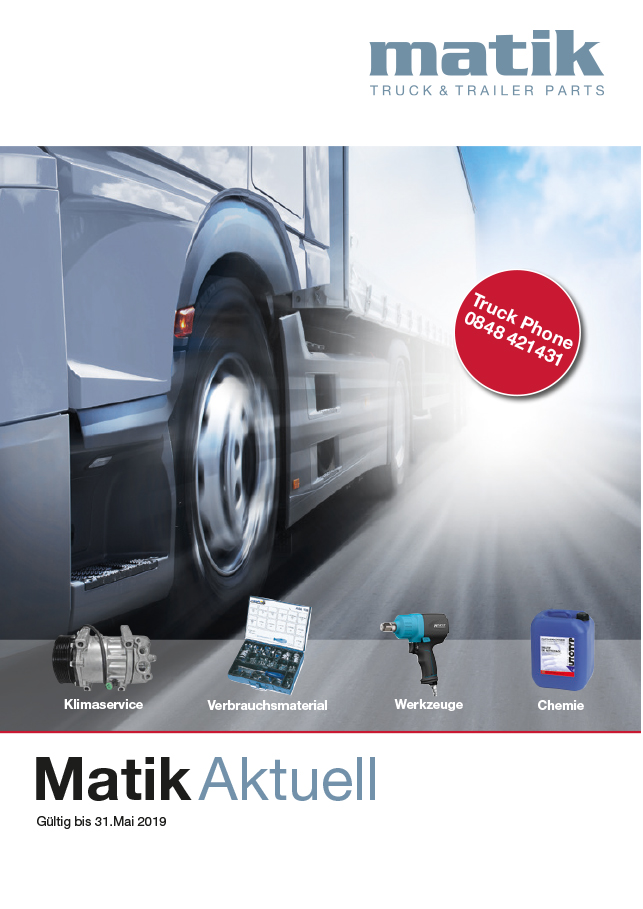 Matik Aktuell - März bis Mai 2019